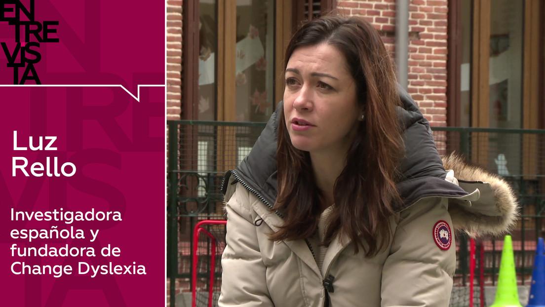 """Luz Rello, investigadora española y fundadora de Change Dyslexia: """"No quiero que ningún niño fracase a causa de la dislexia"""""""