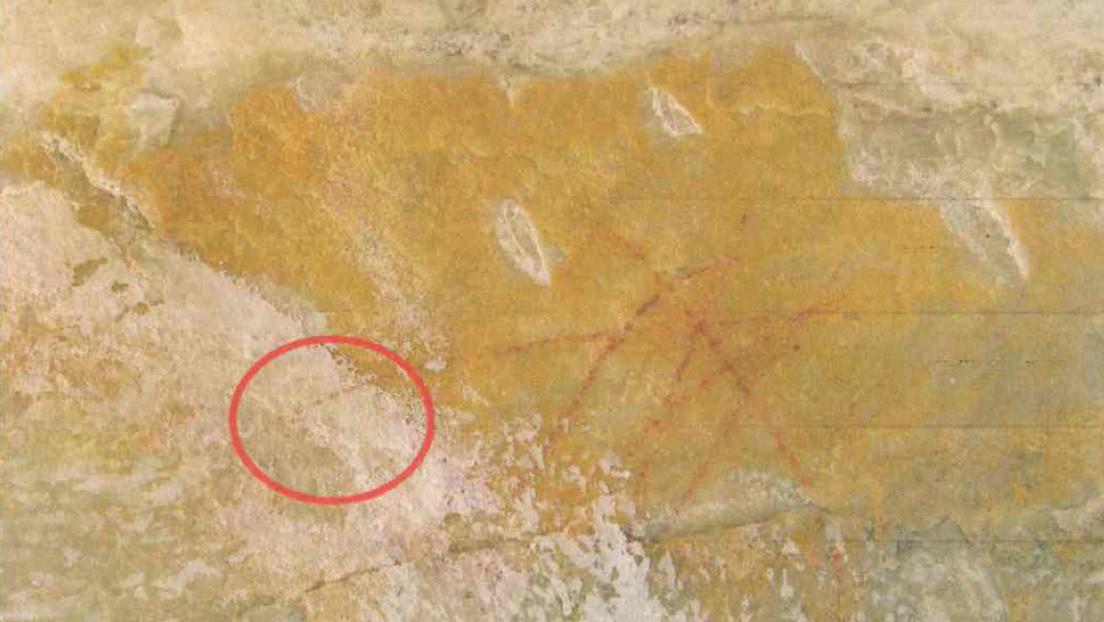 Un canal evangélico pinta de blanco una pared con arte rupestre de 4.000 años de antigüedad en Brasil para grabar una serie bíblica