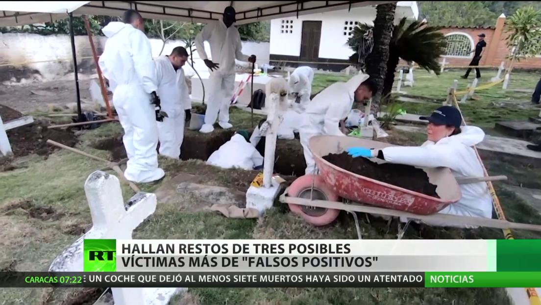 Hallan en Colombia los restos de tres posibles víctimas más de 'falsos positivos'