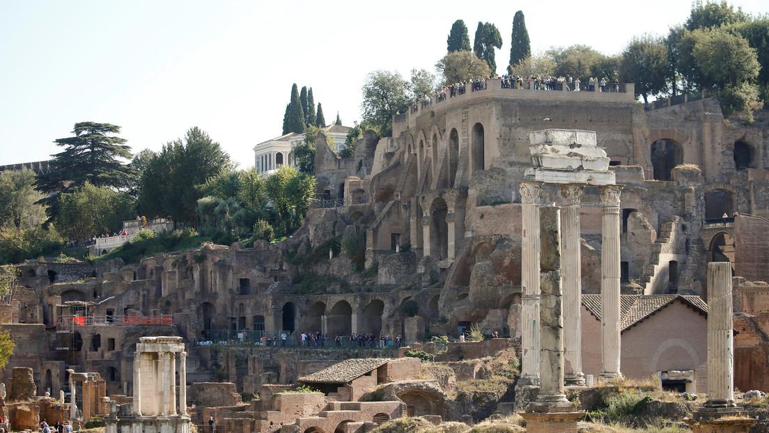 Arqueólogos italianos evalúan el posible hallazgo de la tumba de Rómulo en el centro de Roma (FOTO)