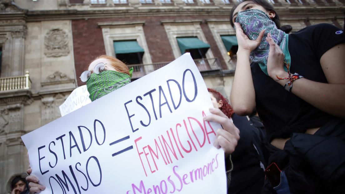 La Cámara de Diputados de México aumenta a 65 años la pena contra feminicidas en medio de las protestas