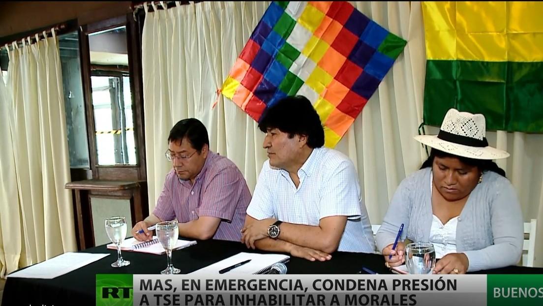 El MAS se declara en estado de emergencia ante las trabas del tribunal electoral boliviano