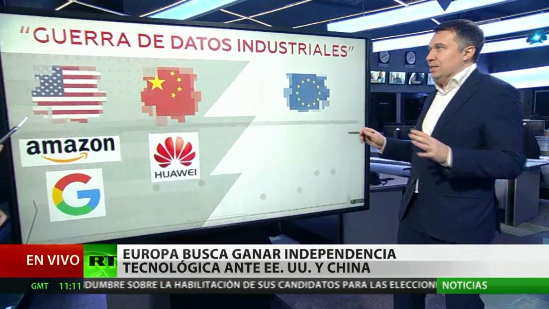 Europa desea ganar independencia tecnológica respecto a EE.UU. y China