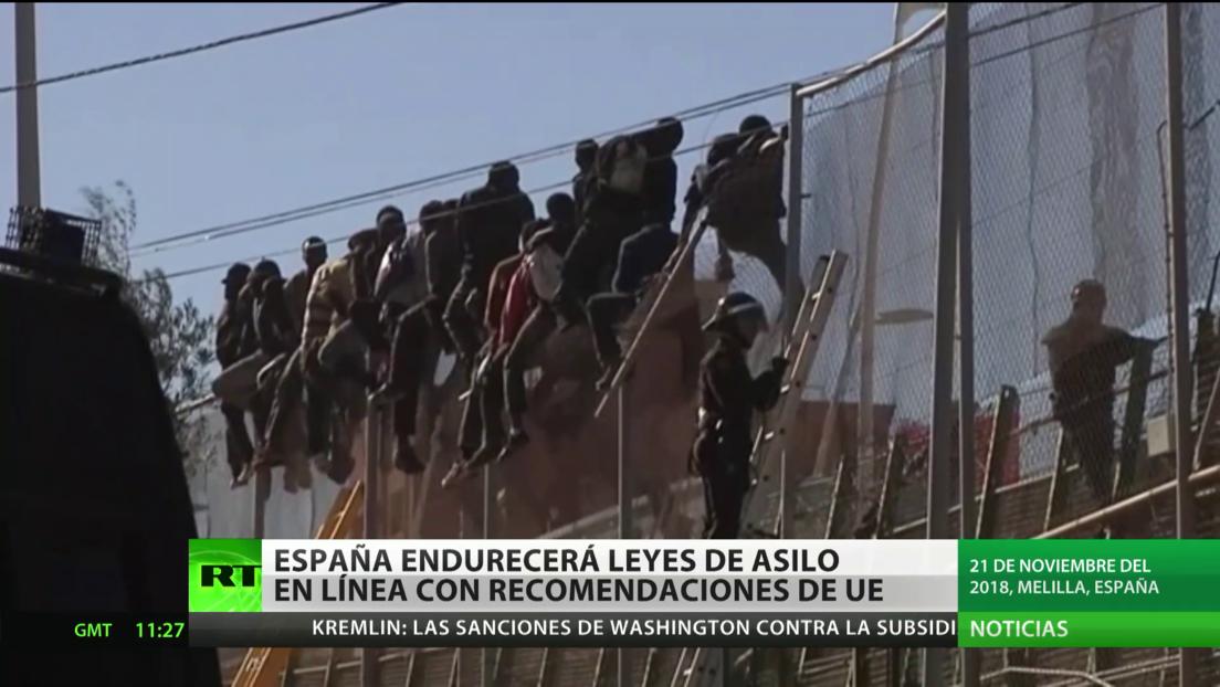 España endurecerá leyes de asilo en línea con las recomendaciones de la UE