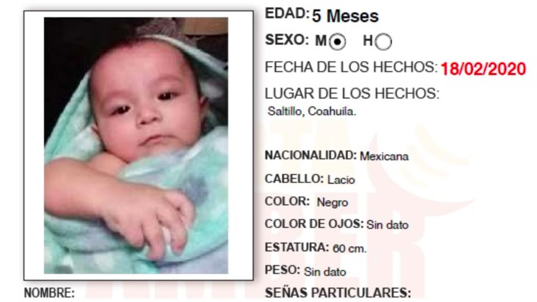 Encuentran en México el cuerpo de una bebé de cinco meses que había sido arrebatada a su madre por desconocidos