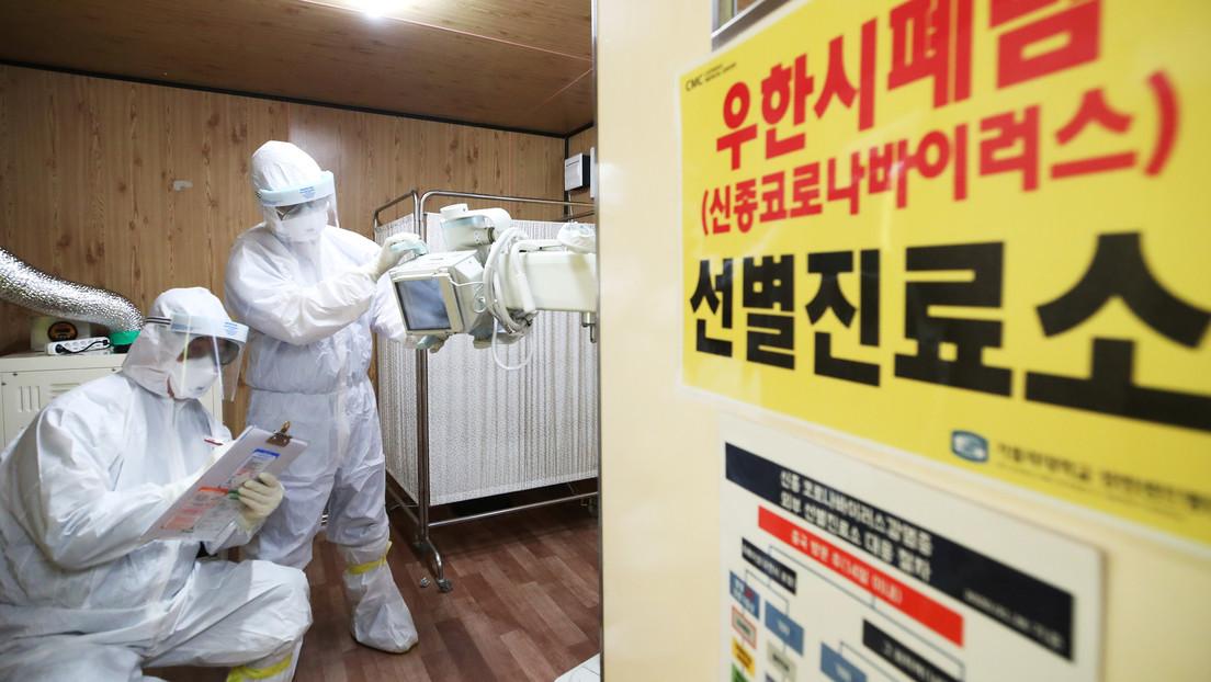 Corea del Sur anuncia que el coronavirus se está propagando por el este del país