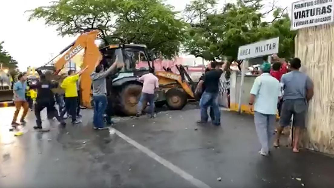 Un senador brasileño queda herido al recibir dos disparos cuando intentaba disolver una protesta policial