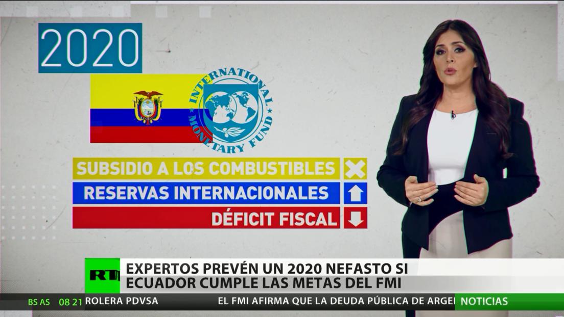 El FMI evalúa el desempeño de Ecuador para conceder el próximo préstamo