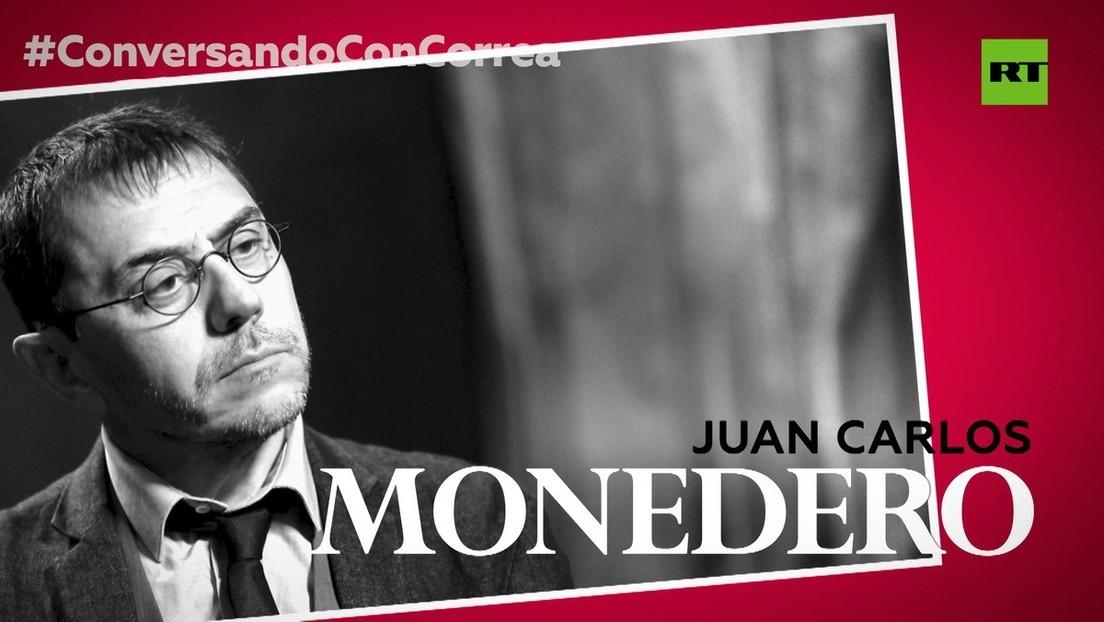 """Juan Carlos Monedero a Correa: """"El autoritarismo es el 'plan C' del capitalismo en crisis"""""""