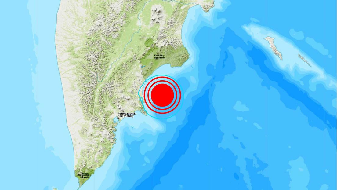 Un sismo de magnitud 5,7 se registra en el Lejano Oriente de Rusia