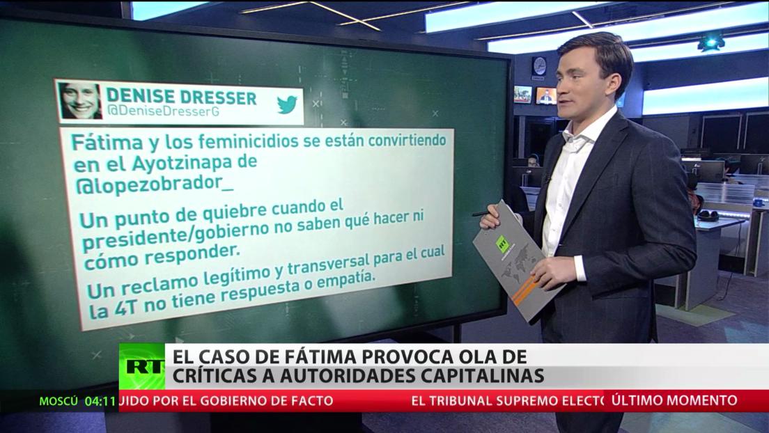 El caso de Fátima provoca una ola de críticas contra las autoridades capitalinas