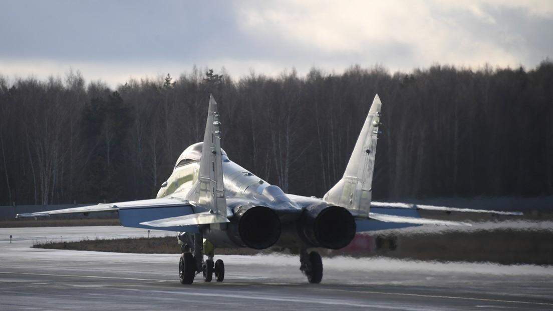 Los creadores del avanzado caza ruso MiG-35 patentan su sistema de aterrizaje automático