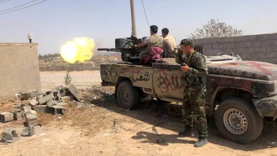 """Mariscal Haftar: """"El retiro de mercenarios y tropas turcas de Libia es una condición para el cese el fuego"""""""