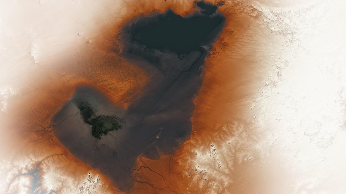 La NASA muestra restos de un antiguo lago que sería el más grande del mundo hoy en día