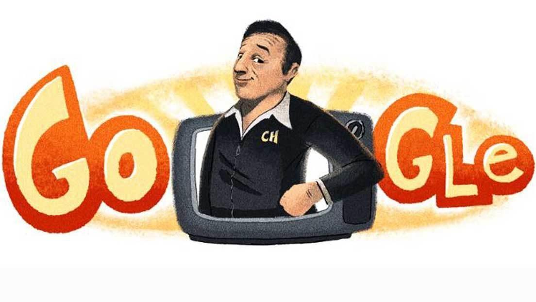 """""""¡Tenía que ser el Chavo del 8!"""": Google celebra el aniversario del nacimiento de Chespirito"""