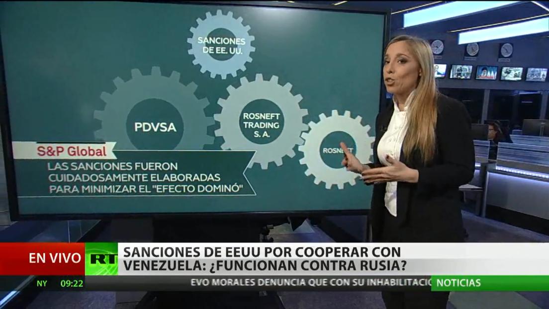 Sanciones de EE.UU. contra un socio de PDVSA es parte del enfrentamiento por los mercados