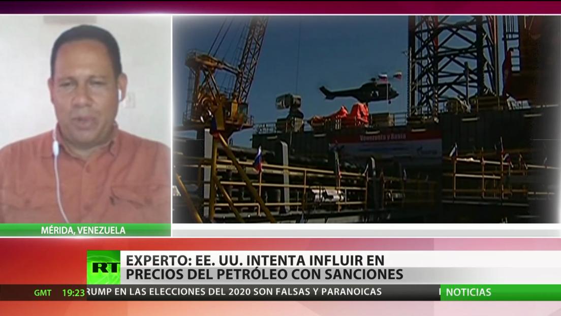 Experto: EE.UU. trata de influir en los precios mundiales del petróleo con las sanciones a Venezuela