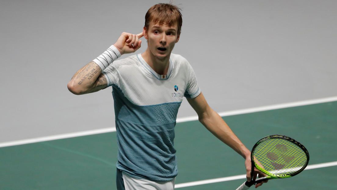 """""""Lo odio con todo mi corazón"""": Un tenista profesional kazajo reconoce que repudia este deporte y que solo juega por dinero"""