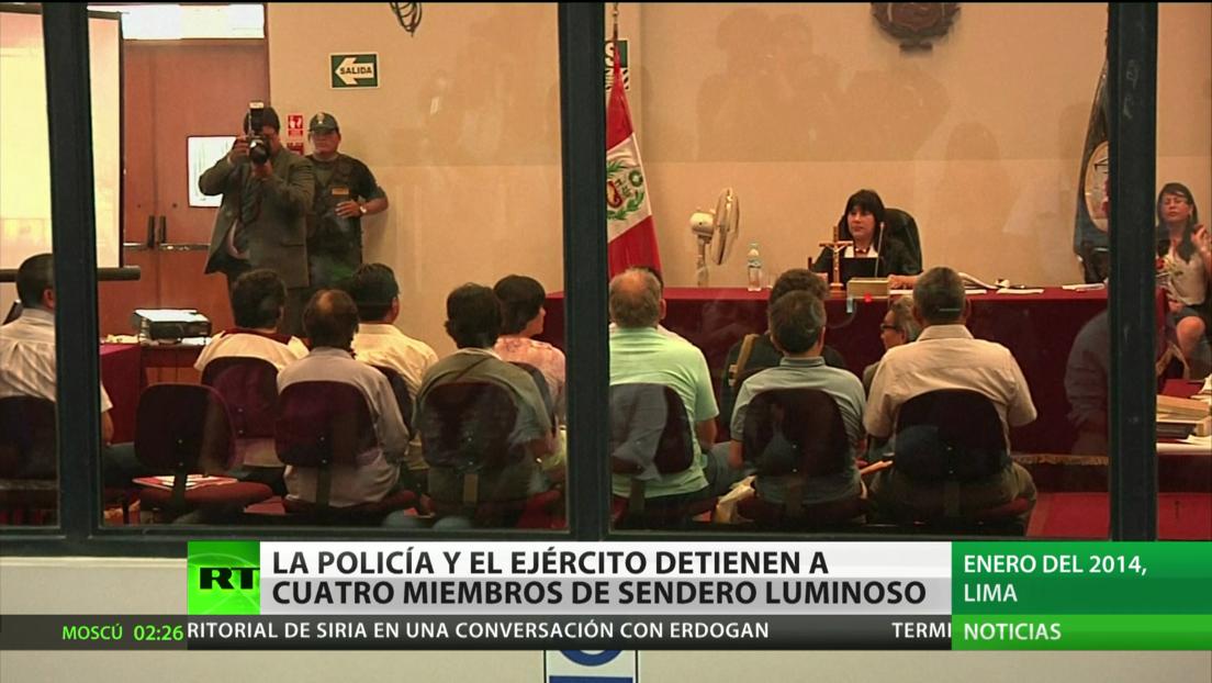 Perú: La Policía y el Ejército detienen a cuatro miembros de Sendero Luminoso