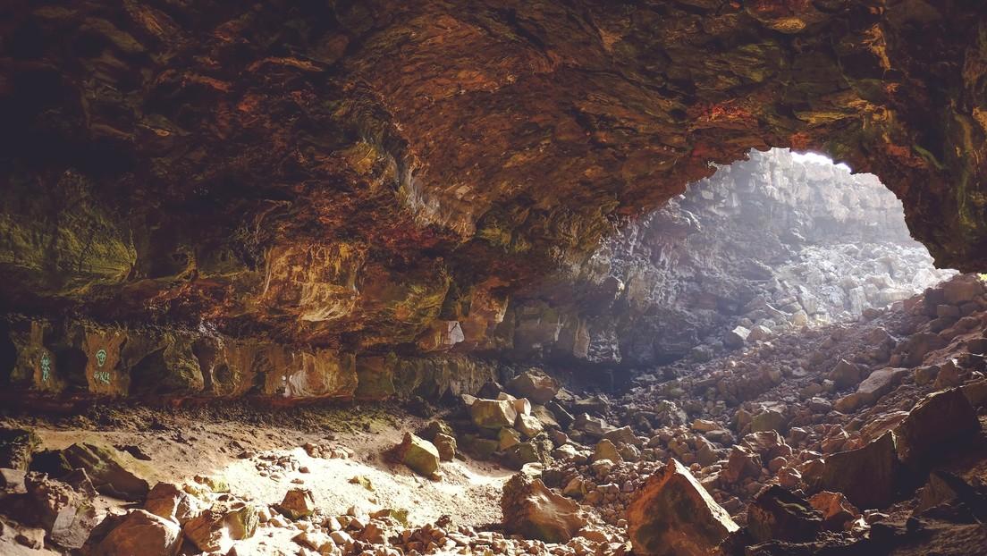 Descubren con ayuda de un dron una cueva prehispánica en las islas Canarias con 72 momias