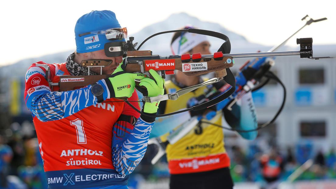 Policía italiana registra de madrugada a biatletas rusos horas antes de una competición