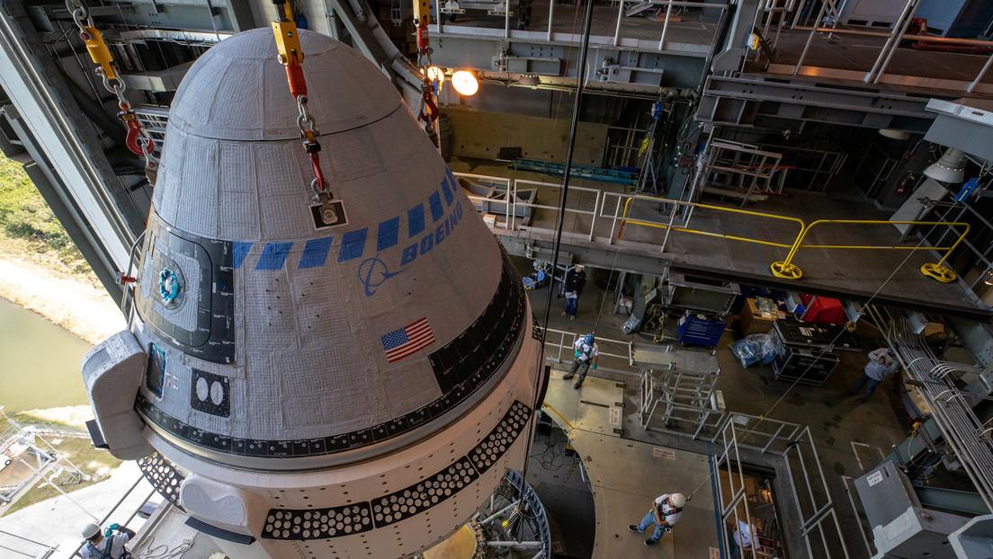 Boeing revela una parte de su nave espacial Starliner que se produce en Rusia