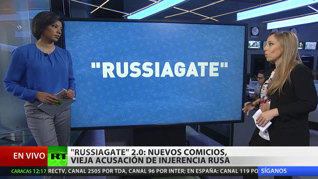 'Russiagate' 2.0: nuevas elecciones, vieja acusación de injerencia rusa