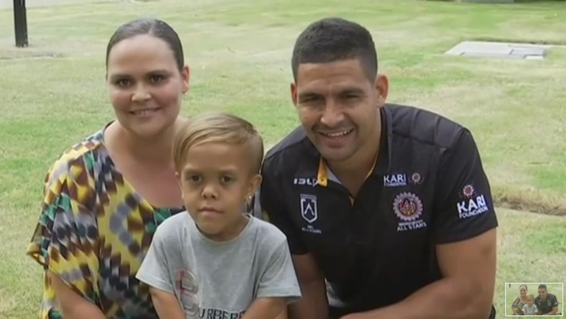 VIDEO: El niño víctima de acoso escolar que quería suicidarse se convierte en el protagonista de un partido de rugby