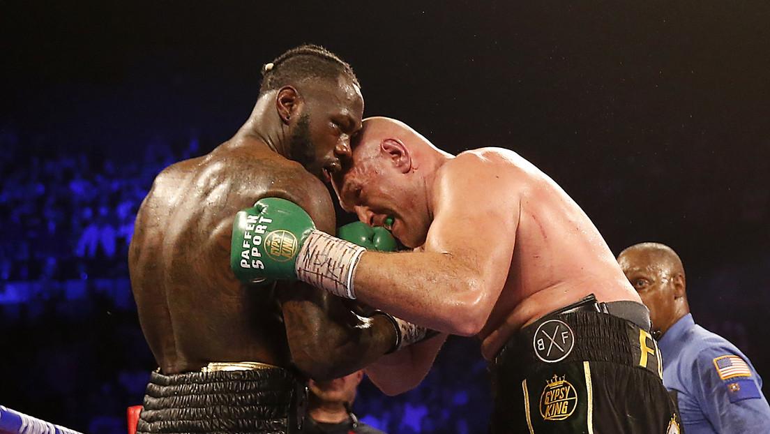 Tyson Fury derrota a Deontay Wilder y se convierte en el campeón mundial de los pesos pesados del CMB