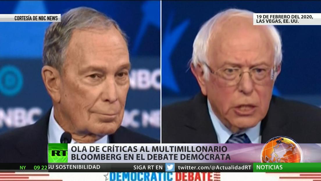 Carrera preelectoral demócrata en EE.UU.: críticas a Bloomberg, liderazgo de Sanders y acusaciones contra Rusia