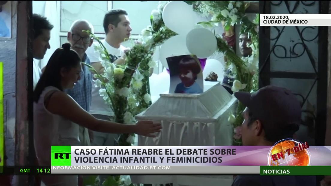 El caso Fátima reabre el debate sobre la violencia infantil y los feminicidios en México