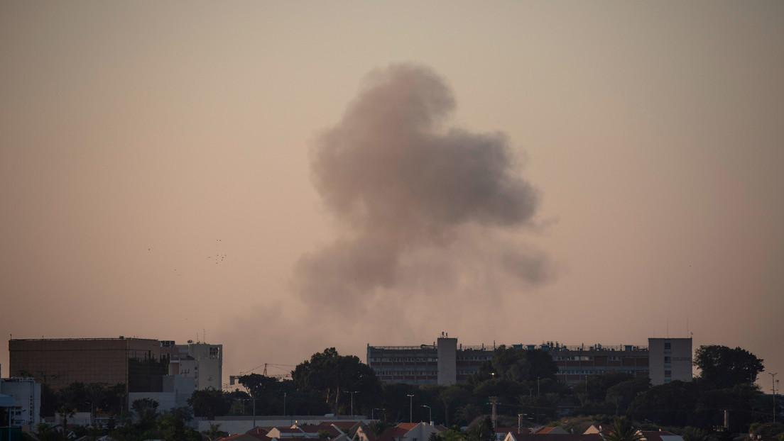 Israel informa sobre el bombardeo de 20 cohetes lanzados desde Gaza (VIDEOS)