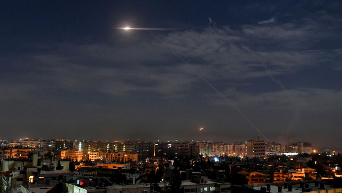 Israel lanza un ataque aéreo cerca de Damasco