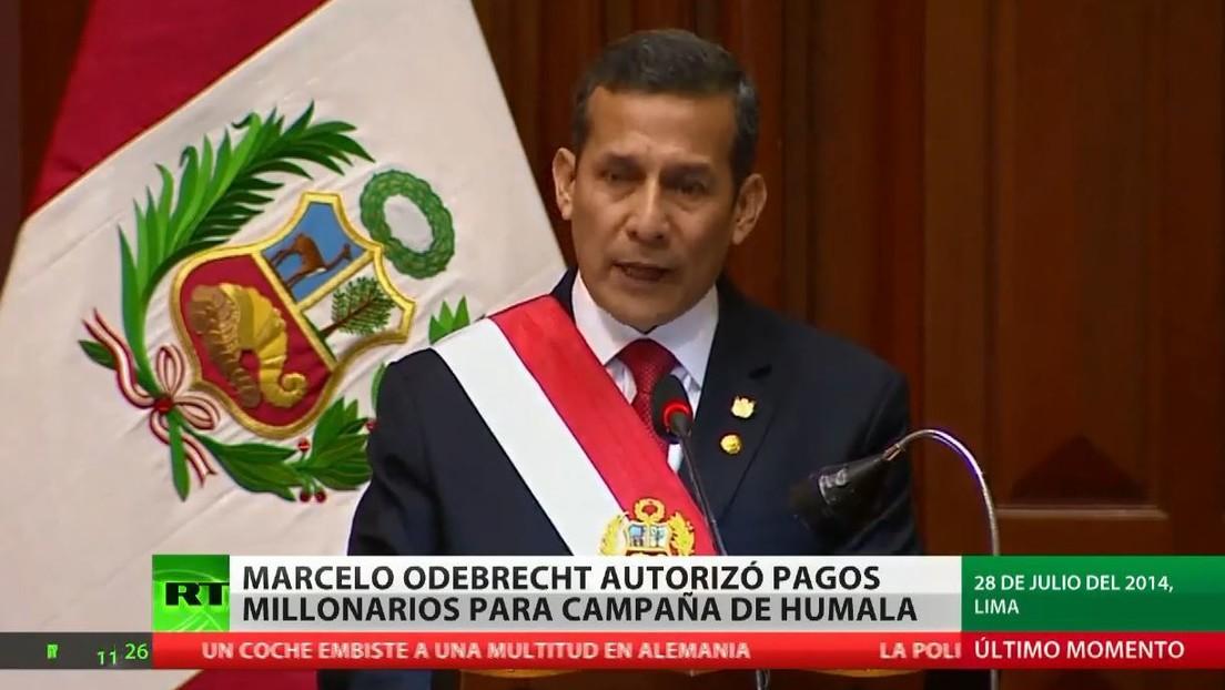 Odebrecht autorizó pagos millonarios para la campaña del expresidente del Perú, Ollanta Humala