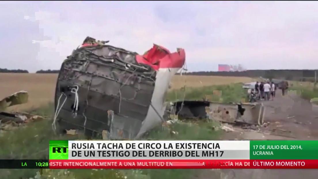 "Rusia tacha de ""circo"" la existencia de un testigo del derribo del MH17"