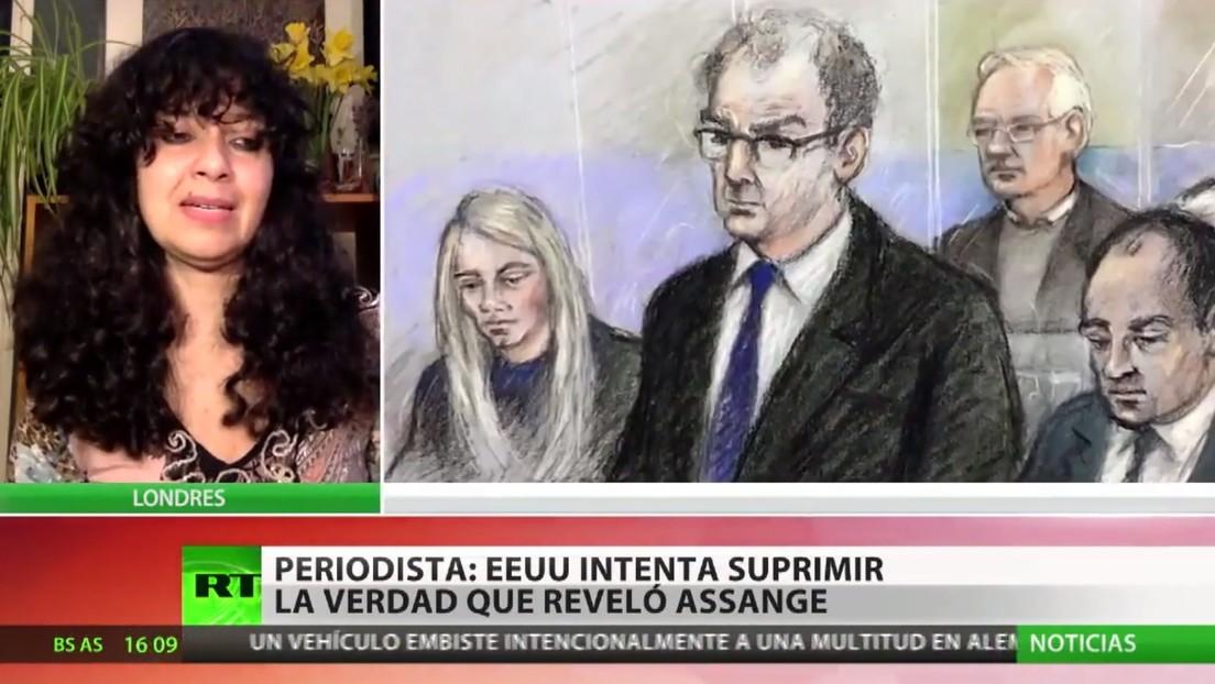 "Experta: ""EE.UU intenta suprimir la verdad que reveló Assange"""
