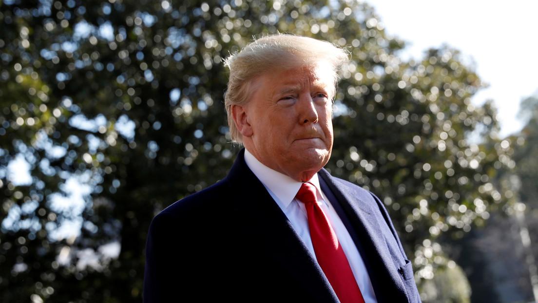 """Trump asegura que """"el coronavirus está bajo control en EE.UU."""", mientras que el número de casos en el país se eleva a 53"""