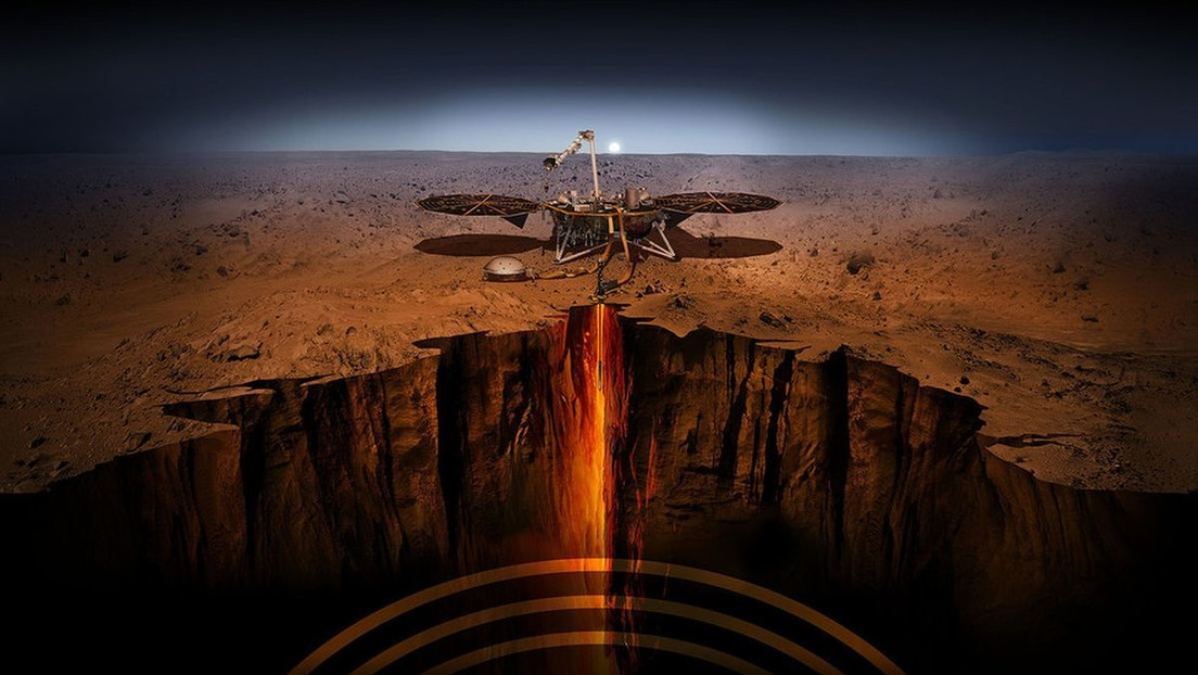 """""""Marte está vivo"""": La sonda InSight registra 174 eventos sísmicos durante su misión en el planeta rojo"""