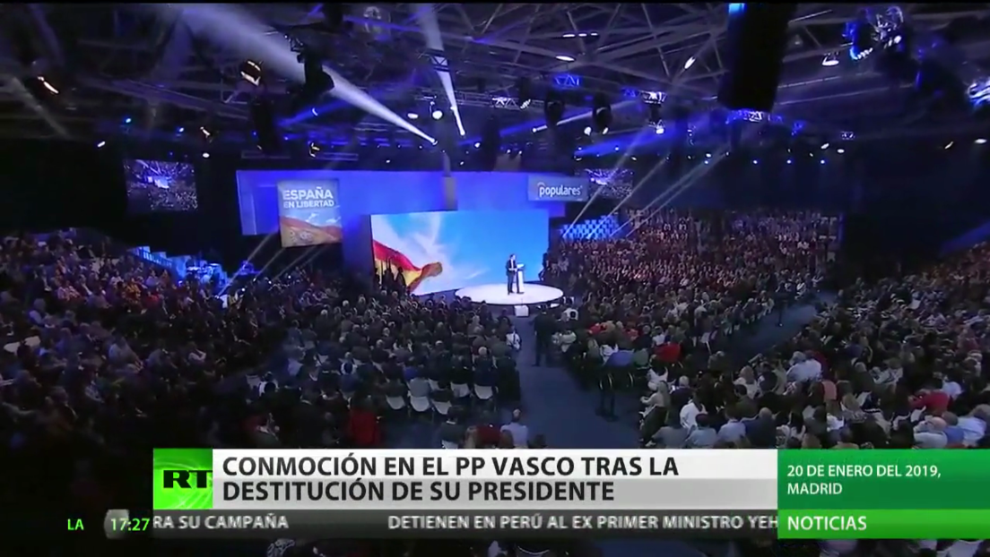 Dimite el líder del Partido Popular vasco, Alfonso Alonso