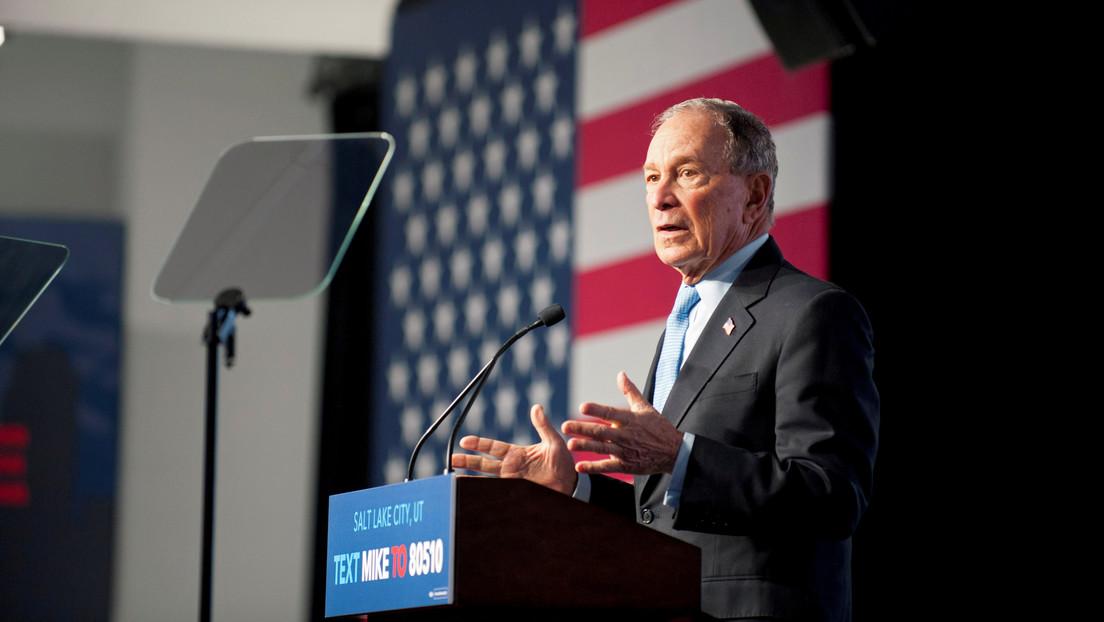 En una grabación de 2016 Bloomberg bromea que eliminaría a sus rivales con drones y protegería a los bancos si fuera presidente de EE.UU.