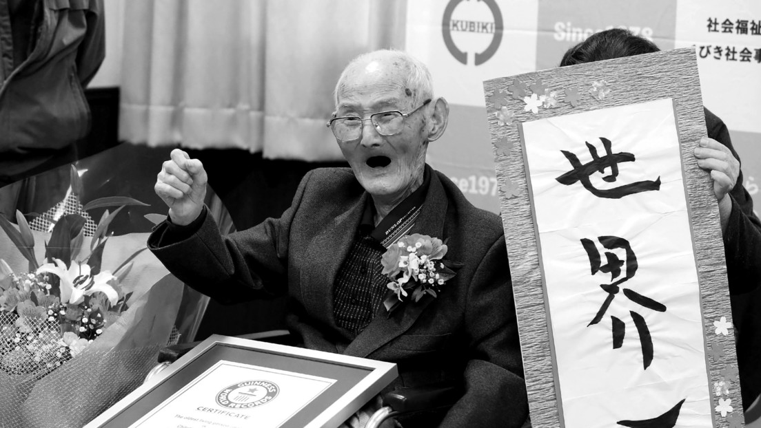 Fallece el hombre más longevo del mundo a la edad de 112 años