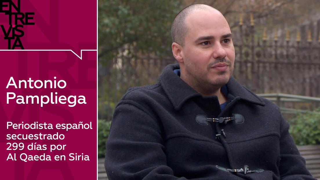 """Antonio Pampliega, periodista secuestrado por Al Qaeda: """"Cuando les pedí a los secuestradores que me mataran me pusieron una televisión en mi celda"""""""