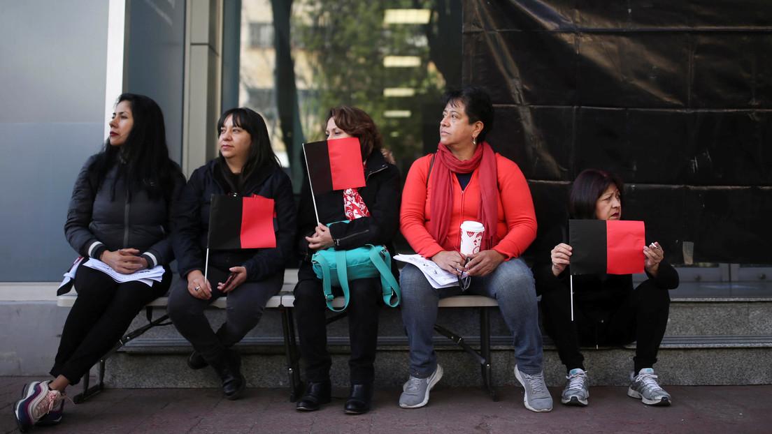 Los trabajadores de la agencia estatal de noticias de México,  en pie de lucha contra los despidos