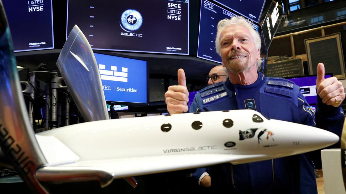 Las acciones de una empresa de turismo espacial se triplican en dos meses pese a tener pérdidas, no realizar vuelos y no captar nuevos clientes