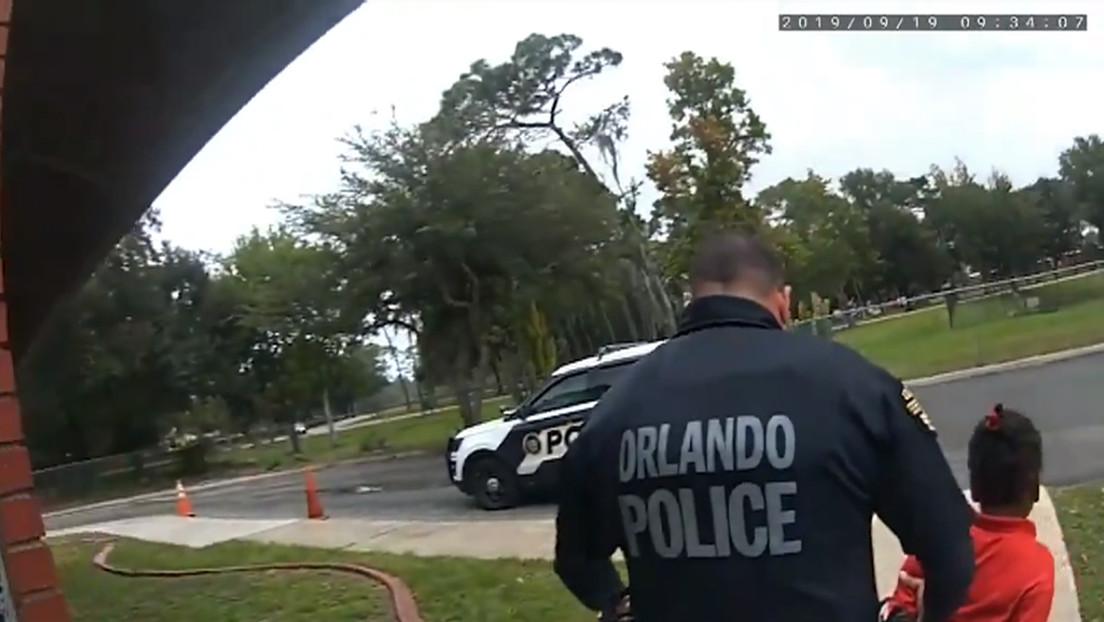 Niña en Florida llora suplicando no ser arrestada