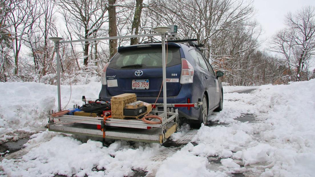 Crean un radar que permite a los coches automáticos 'ver' el camino bajo la nieve