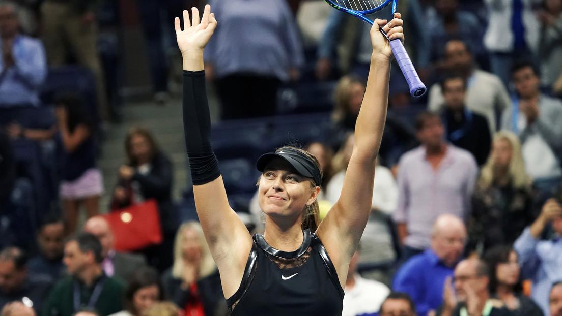 La tenista rusa María Sharápova termina su carrera deportiva