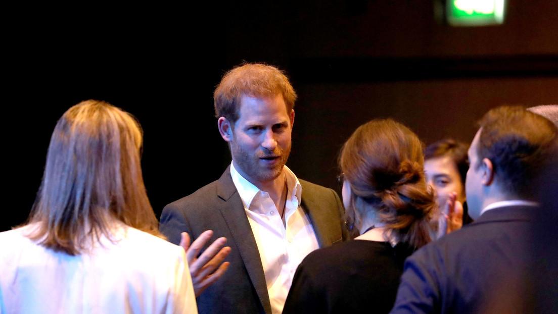 """""""Nos dijo llamarlo solo 'Enrique'"""": Petición del duque de Sussex en uno de sus últimos eventos como miembro oficial de la realeza británica (VIDEO)"""
