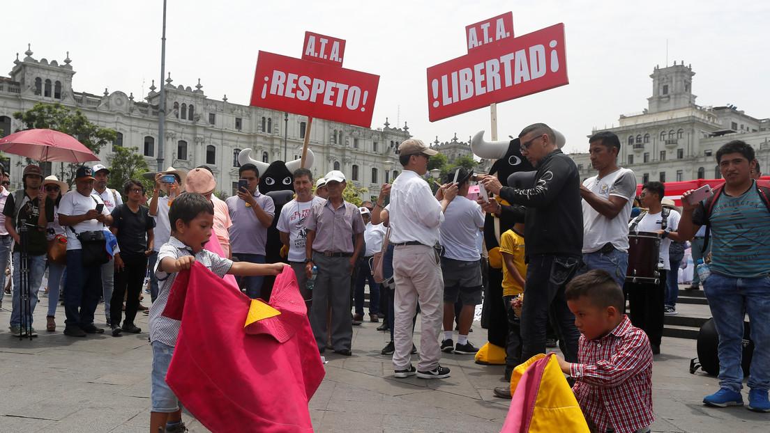 Constitucional de Perú declara legalidad de corridas de toros y peleas de gallos
