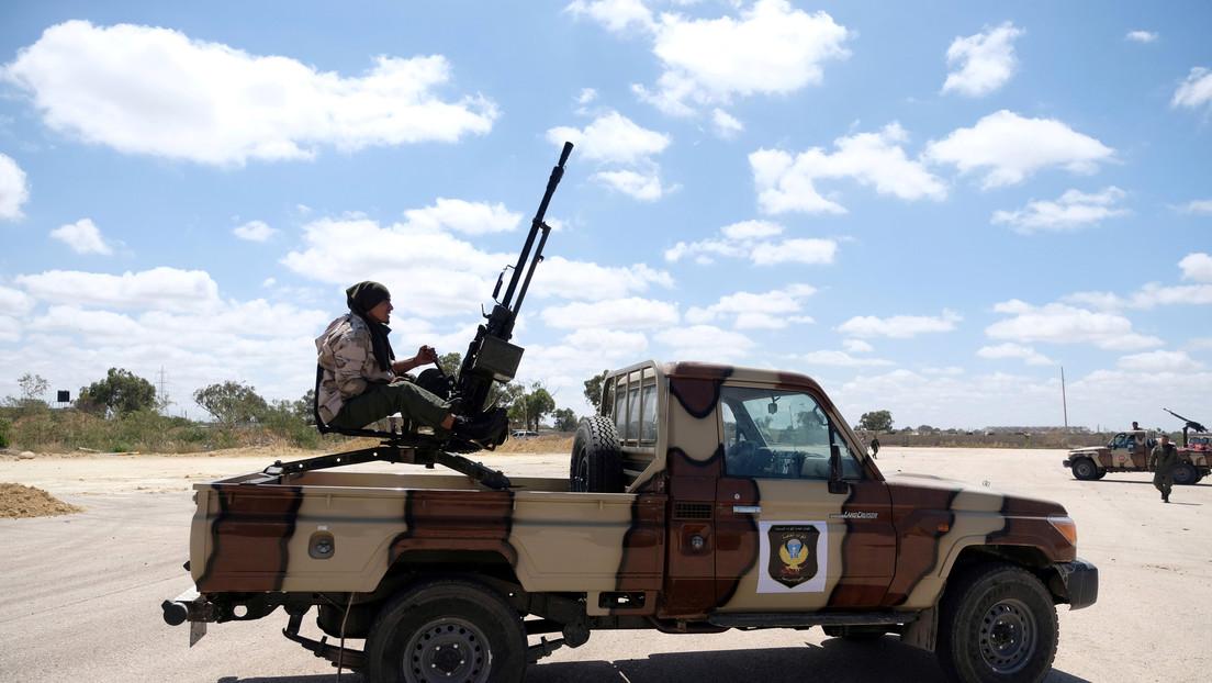 El Ejército Nacional Libio derriba un dron de producción turca cerca de Trípoli
